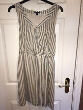 *NWT* GAP Blue/Cream Stripped Shift Dress Size S RRP £40