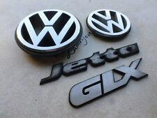 93-98 VW Jetta GLX Hood 191 853 601 H Logo Tailgate 1H5 853 630 D,B,C Emblem Set