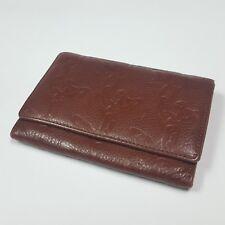 Auth Vivienne Westwood  LONDON Dark Brown Leather  Wallet