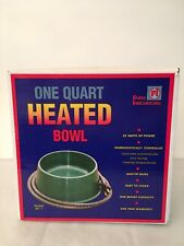 Heated Bowl Farm Innovators One Quart for Dogs, Cats, Pets