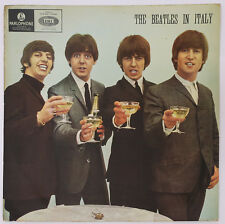 THE BEATLES IN ITALY ORIG 1ST ISRAELI LP 1965 YELLOW PARLOPHONE CHAMPAGNE COVER