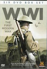 WWI The First Modern War 6 DVD Set Complete Story of WW1 Red Baron to Armistice