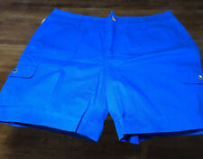 NWT CHAPS by RALPH LAUREN Gorgeous BLUE WOMENS CASUAL SHORTS SIZE 10