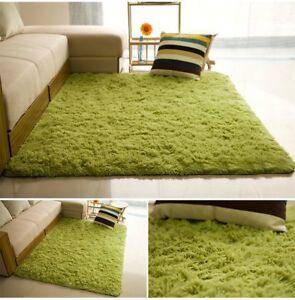 Soft fluffy carpet living children's room warm plush floor  faux fur 80*160cm