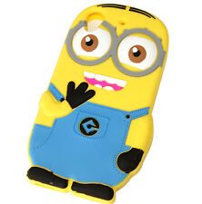 for HTC Desire 626 626S - Yellow Minion Soft Rubber Silicone Skin Case Cover