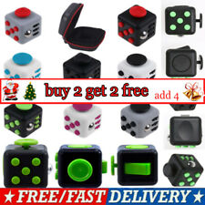 Fidget Cube Spinner Toy Children Desk Adults Stress Pressure Relief Cubes AVUK