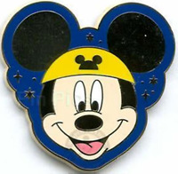 Disney Pin 47371 50th Anniversary Golden Mickey Mouse Ear Hat Mystery LE 1500