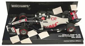 Minichamps Haas F1 VF-20 #51 Abu Dhabi GP 2020 - Pietro Fittipaldi 1/43 Scale
