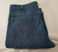 197a4e7d764716 EDDIE BAUER Straight Fit Blue Jeans Denim * Mens Size 36 X 34