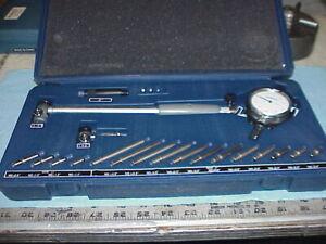"Fowler 52-646-400 Xtender Extender Dial Bore Gage Set, 1.4""-6"" Range  .0005"""