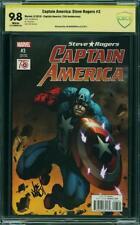 Capitán América: steve Rogers # 3 us Marvel cgc 9.8 Mint highest signed *