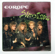 "EUROPE 45T Disque SP 7"" SUPERSTITIOUS - LIGHTS SHADOWS - EPIC 652879 0"