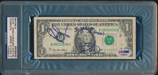 Dave Grohl & Pat Smear Signed Dollar Bill Nirvana + Foo Fighters PSA/DNA Rare
