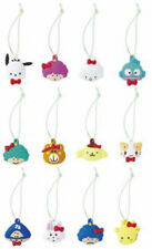 Sanrio Hello Kitty 12pc Green Trinkets 50th Anniversary Pochacco Hangyodon