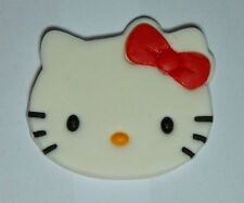 1 x Hello Kitty cupcake topper edible sugar paste cake decoration birthday party