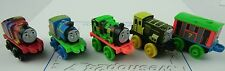 THOMAS & FRIENDS Minis Train Engine 2015 NEON Set of 5 TOBY HENRY BASH Weighted