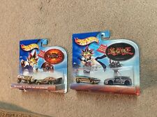 HOT WHEELS 2004 YU GI OH SLIVER THE SKY DRAGON Summoned Skull Magician Lot Of 4