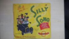 """Peter Pan Records Let's All Sing The SILLY SONG 10"""" 78 RPM 1954"""