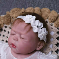 Baby Headband Baptism Headband Christening Headband Flower Girl Headband