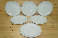 "Braniff Airlines China Set of (6) Salad Plates, 7""  747-PL-8"