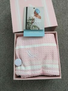 Dock & Bay Hair Wrap Towel 100% Recycled Pink