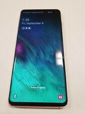 Samsung Galaxy S10 SM-G973U 128GB Flamingo Pink AT&T gsm unlocked  used