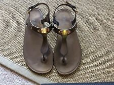 Michael Kors jelly sandal in Bronze color....Size 8M