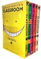 Assassination Classroom Vol 1-5 Collection 5 Books Set (Series 1) Yusei Matsui