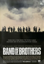 Band Of Brothers Tv Movie Poster 1 Sided Rare Original 27x39 Steven Spielberg