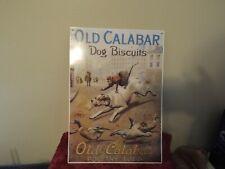 Old Calabar Dog Biscuit Sign Dog Rec Room Decor Tin Metal Sign