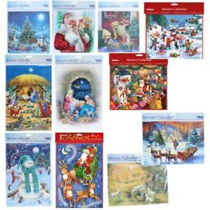 Christmas Countdown Advent Calendar - 24 Windows - Choose Design