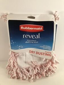 Rubbermaid Reveal Microfiber Dry Dusting Pad, Fits all Reveal Mops