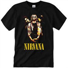 New ListingNirvana Pop Art T-Shirt Nirvana Music Band, Kurt Cobain Unisex Gift Tee S-3Xl