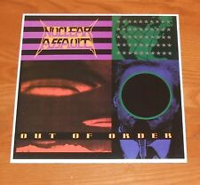 Nuclear Assault Out of Order Poster 2-Sided Flat Square Promo 12x12