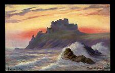 Jersey Mont Orgueil artist LarbalestierTuck Oilette #7133 PPC used 1906