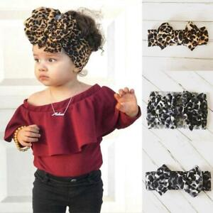 Kids Girl Baby Headband Toddler Lace Bow Flower Hair Accessories Band Q1B6