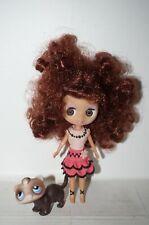 Littlest Pet Shop Blythe Doll with pet