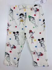 Baby Gap Toddler Girl Disney Leggings 18-24 month pants Mickey Minnie Mouse Tan