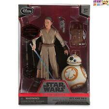 Rey and BB-8 Elite Series Die Cast Action Figures Star Wars The Force Awakens