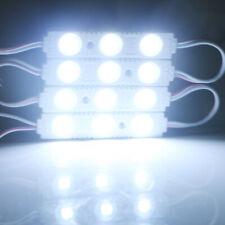 100Pcs 5050 3LED SMD Módulo de inyección impermeable Tira de Luz LED Señal Tienda