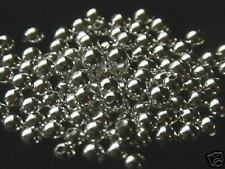 3mm Sterling Silver Smooth Round Beads 10  Made in USA