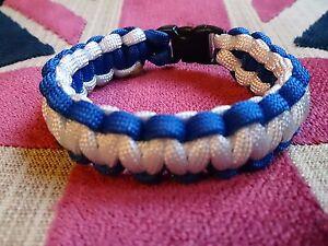 Birmingham City FC Prostate Cancer Inspired Paracord 550 Bracelet
