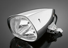CHROME CUSTOM HEADLIGHT Motorcycle/Chopper/Bobber/Harley/Cruiser/Metric: 68-119