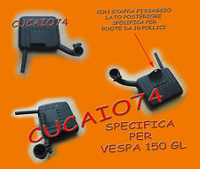 MARMITTA VESPA 150 GL VLA VERSIONE CONFORME ALL' ORIGINALE COME DA FOTO