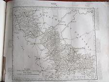 59 Nord gravure carte géographique Tardieu 1840 (1c)