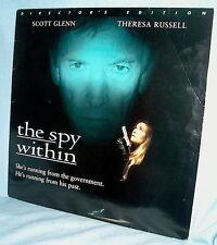 LD laserdisc THERESA RUSSELL The Spy Within SCOTT GLENN Ltbx