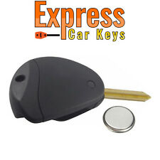 Peugeot 2 Button Remote Key Fob Case Service Repair Kit Fits Expert 806 + Logo