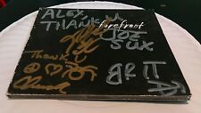 Autographed signed by band FOREFRONT empty CD case Hydro Smily Bag Camille Atari