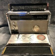 Zenith Trans-Oceanic Royal 3000  Multiband AM FM Radio Vintage Untested