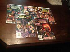 5-GENERATION X MIXED LOT ASSORTED  MARVEL COMICS